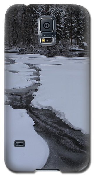 Cracked Ice  Galaxy S5 Case by Duncan Selby