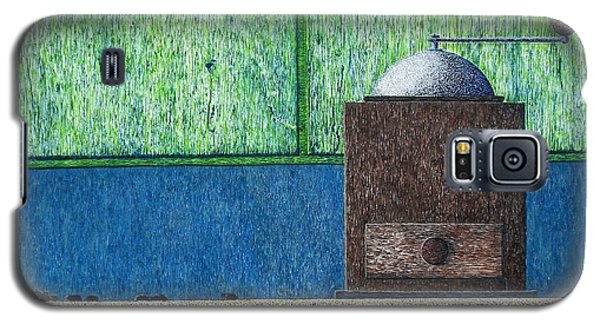 Galaxy S5 Case featuring the painting Crafting Creation by A  Robert Malcom