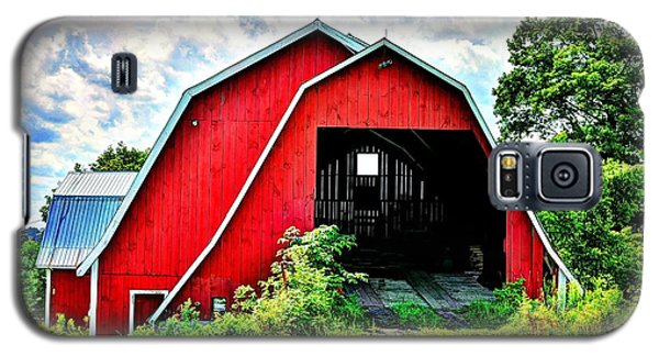 Craftsbury Barn Galaxy S5 Case