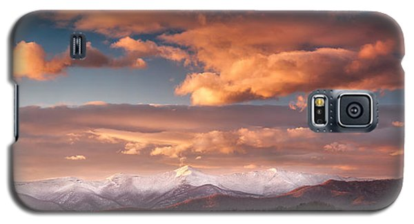 Craggy Snow Galaxy S5 Case