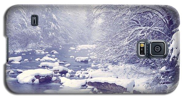 Cranberry River Heavy Snow Galaxy S5 Case