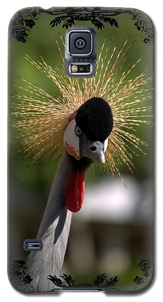 Galaxy S5 Case featuring the photograph Crane by Athala Carole Bruckner