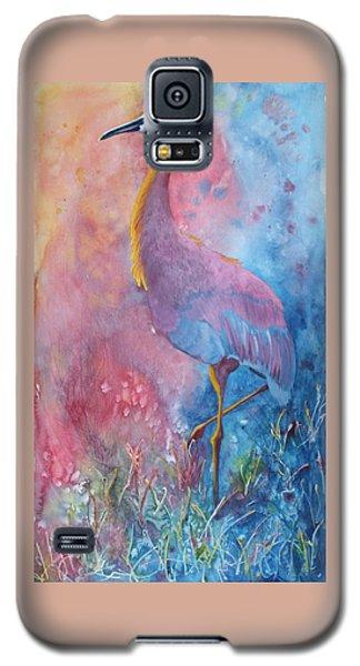 Crane Galaxy S5 Case by Nancy Jolley