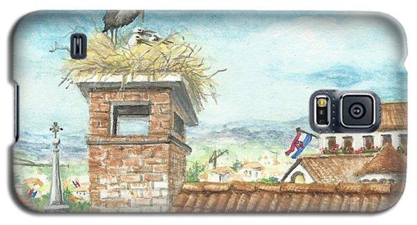 Cranes In Croatia Galaxy S5 Case