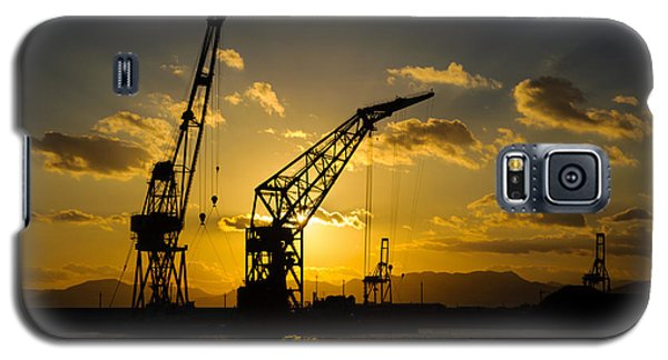 Cranes In The Sunset Galaxy S5 Case