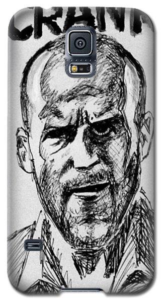 Galaxy S5 Case featuring the painting Jason Statham by Salman Ravish