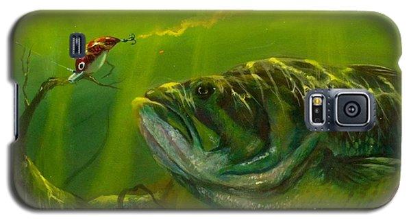 Alligator Galaxy S5 Case - Cranking  by Yusniel Santos