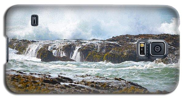 Crashing Surf Galaxy S5 Case by Deprise Brescia