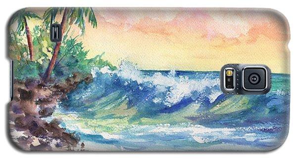 Crashing Waves At Sunrise Galaxy S5 Case