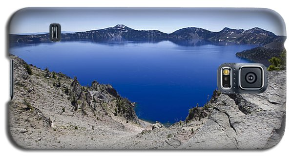 Crater Lake Galaxy S5 Case by David Millenheft