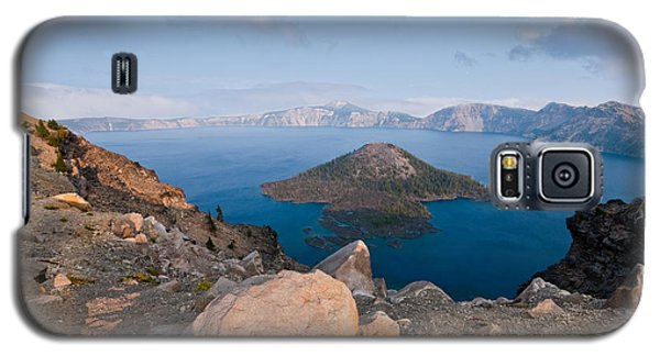 Crater Lake In The Evening Galaxy S5 Case