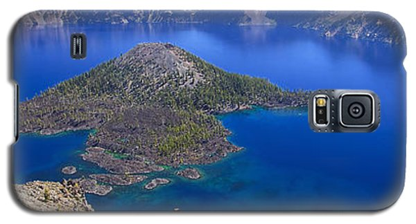 Galaxy S5 Case featuring the photograph Crater Lake Panorama 090914a by Todd Kreuter