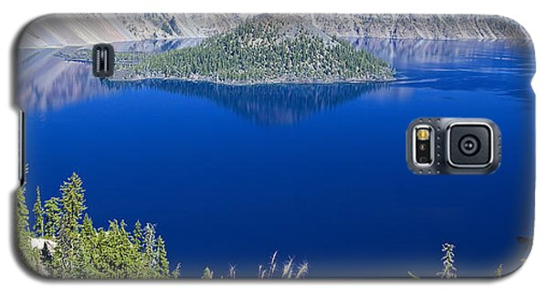 Crater Lake Panorama 090914b Galaxy S5 Case