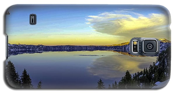 Crater Lake Panorama Galaxy S5 Case