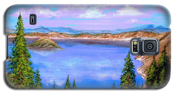 Crater Lake Oregon Galaxy S5 Case
