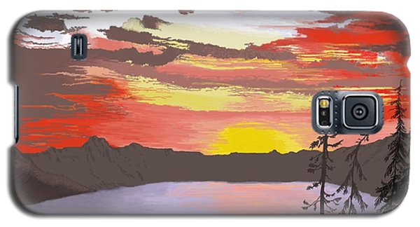 Crater Lake Galaxy S5 Case by Terry Frederick