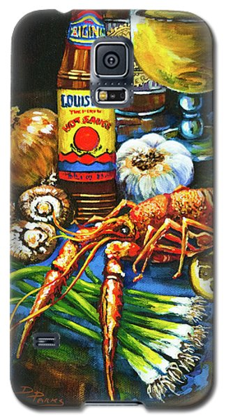 Crawfish Fixin's Galaxy S5 Case by Dianne Parks