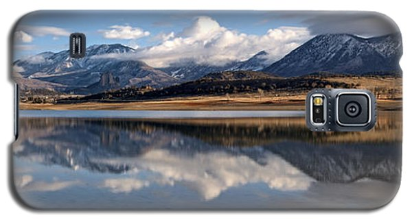 Crawford Reservoir And The West Elk Mountains Galaxy S5 Case