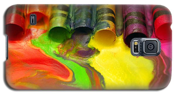 Crayon Cooperation Galaxy S5 Case by Margie Chapman