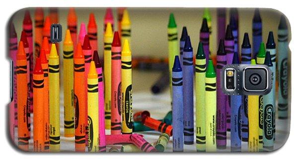 Crayon Wars Galaxy S5 Case