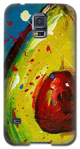 Crazy Avocado 4 - Modern Art Galaxy S5 Case