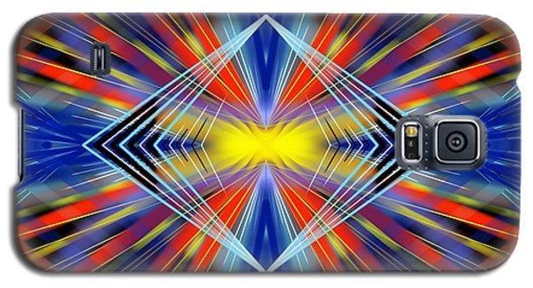 Galaxy S5 Case featuring the digital art Crazy by Brian Johnson