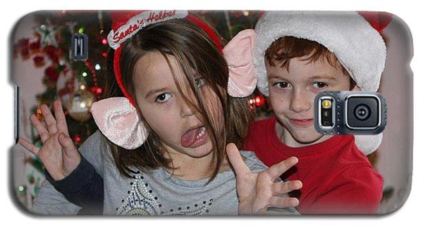 Crazy Christmas Galaxy S5 Case