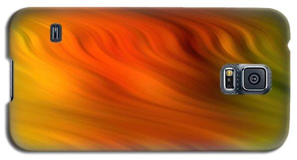 Creamy Ripples Galaxy S5 Case
