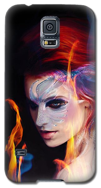 Creation Fire And Flow Galaxy S5 Case