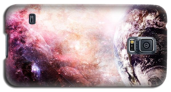Creation Of Earth Galaxy S5 Case