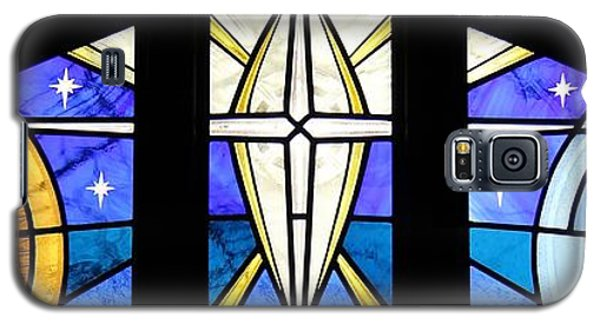 Creation Of The Stars Galaxy S5 Case by Gilroy Stained Glass