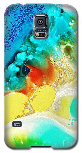 Creation Wave Galaxy S5 Case by Christine Ricker Brandt