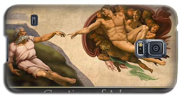 Galaxy S5 Case featuring the digital art Creations Of Adam by Scott Ross