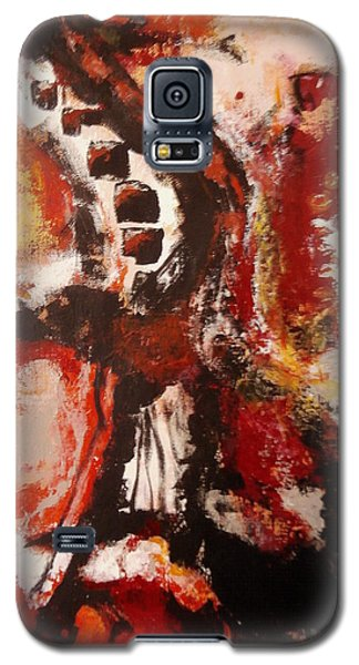 Galaxy S5 Case featuring the painting Creature Feature by Buck Buchheister