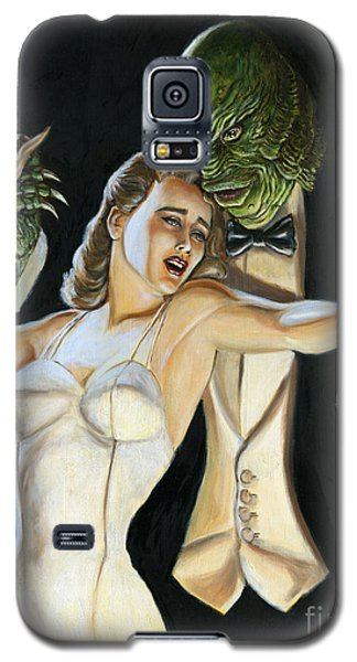 Creature From The Black Tie Lagoon Galaxy S5 Case