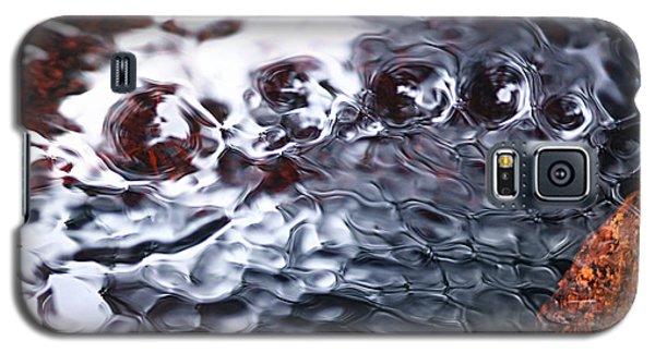 Creek Twirls Abstract Macro Galaxy S5 Case