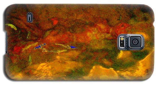 Creekwater Abstract 3 Galaxy S5 Case by Deborah  Crew-Johnson
