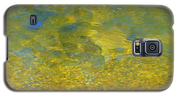 Creekwater Abstract Galaxy S5 Case by Deborah  Crew-Johnson