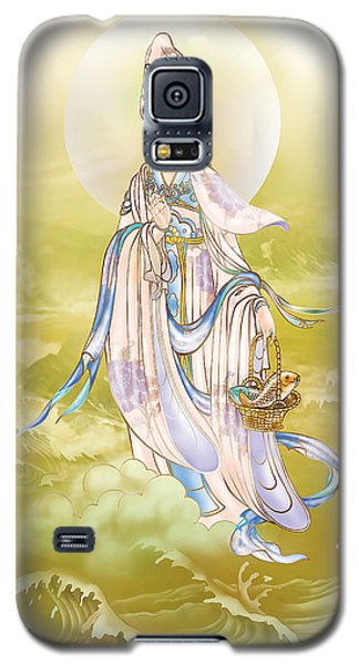 Galaxy S5 Case featuring the photograph Creel Kuan Yin by Lanjee Chee