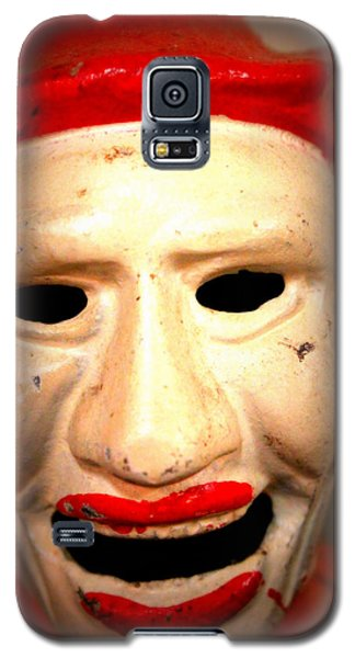 Galaxy S5 Case featuring the photograph Creepy Clown by Lynn Sprowl