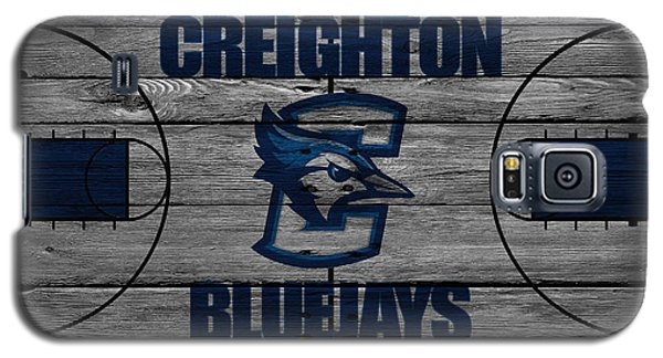 Bluejay Galaxy S5 Case - Creighton Bluejays by Joe Hamilton