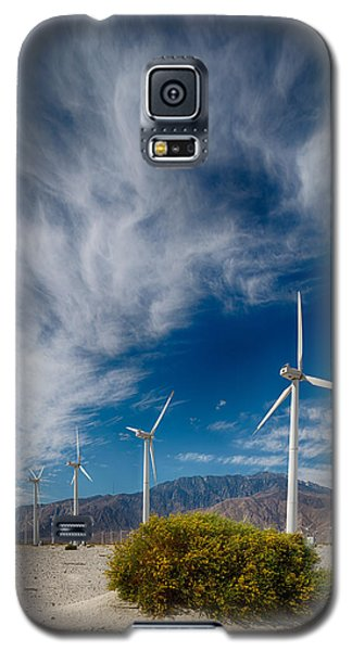 Creosote And Wind Turbines Galaxy S5 Case
