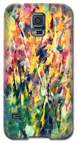 Crescendo Of Spring Abstract Galaxy S5 Case