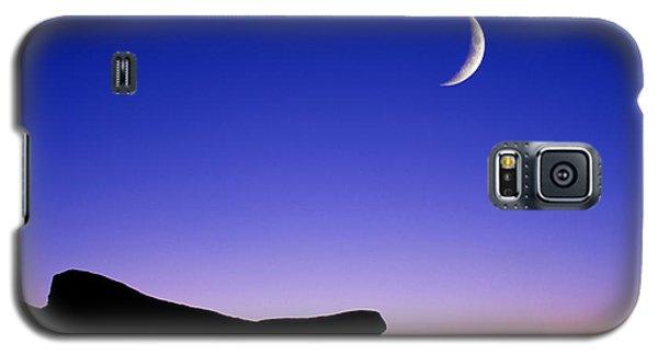 Crescent Moon Halibut Pt. Galaxy S5 Case