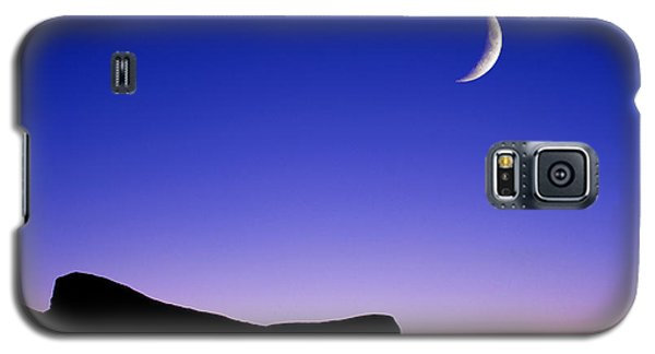Crescent Moon Halibut Pt. Galaxy S5 Case