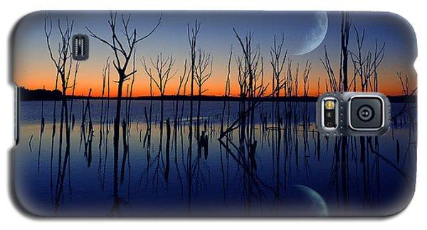 The Crescent Moon Galaxy S5 Case by Raymond Salani III