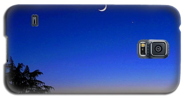 Crescent Moon San Francisco Bay Galaxy S5 Case