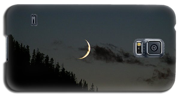 Galaxy S5 Case featuring the photograph Crescent Silhouette by Jeremy Rhoades