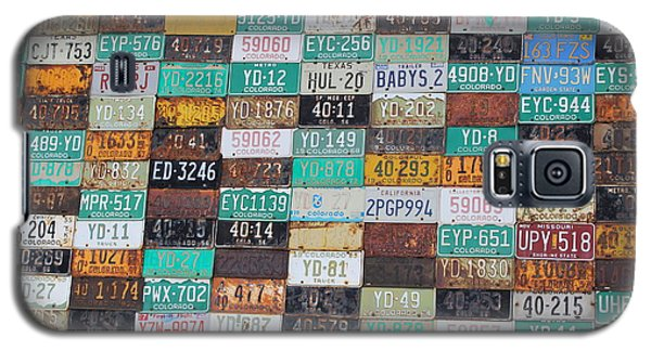 Crested Butte License Plate House Galaxy S5 Case