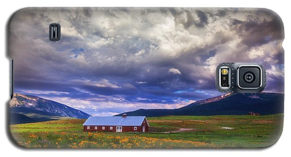 Crested Butte Morning Storm Galaxy S5 Case